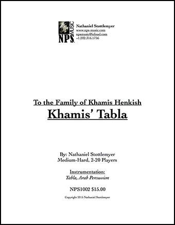 Khamis' Tabla