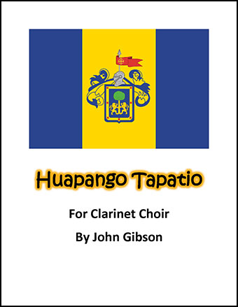 Huapango Tapatio for Clarinet Choir
