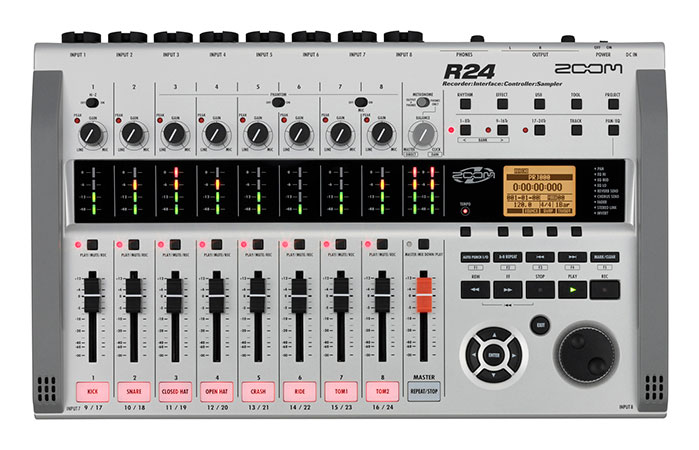 R24 Recorder Interface Controller Sampler