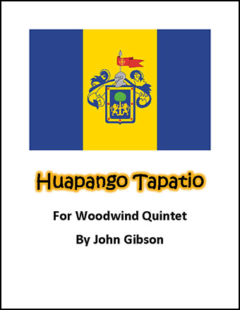 Huapango Tapatio for Woodwind Quintet