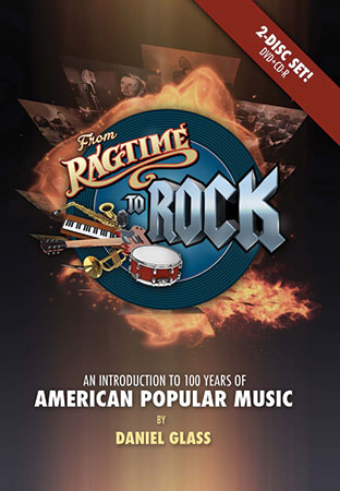 From Ragtime to Rock Cover