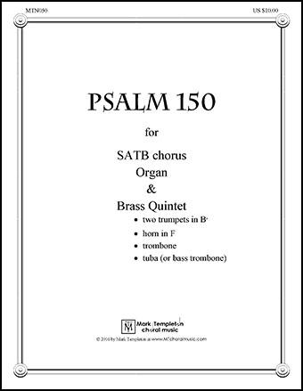 Psalm 150 (full score)