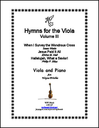 Hymns for the Viola Volume III