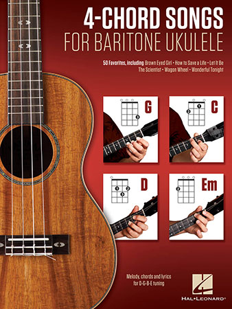 4 Chord Songs For Baritone Ukulele By Various Jw Pepper Sheet Music