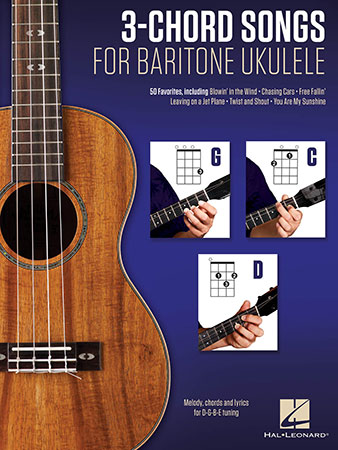 3 Chord Songs For Baritone Ukulele By Various Com Jw Pepper