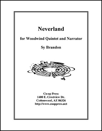 Neverland for Woodwind Quintet and Narrator Thumbnail