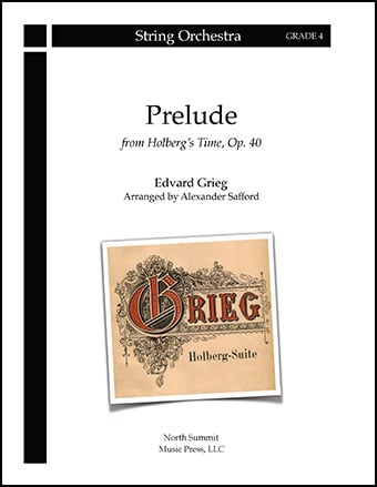Prelude from Holberg's Time Op. 40 (Holberg Suite)