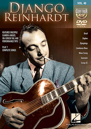 Guitar Play-Along, Vol. 40: Django Reinhardt