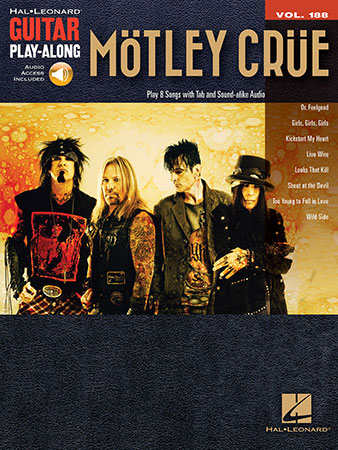 Guitar Play-Along, Vol. 188: Motley Crue