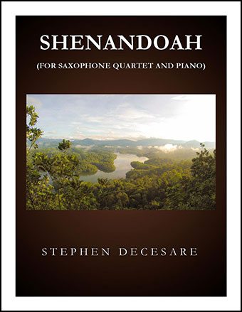 Shenandoah (for Saxophone Quartet)