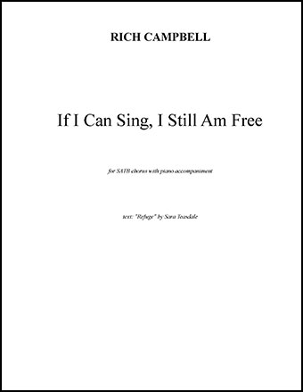 If I Can Sing, I Still Am Free