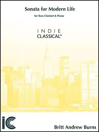 Sonata for Modern Life - for Bass Clarinet & Piano