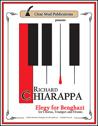 Elegy for Benghazi (for Chorus, Trumpet & Drums)