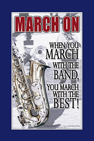 You March With the Best