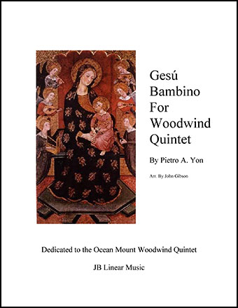 Jesu Bambino (Infant Jesus) for Woodwind Quintet