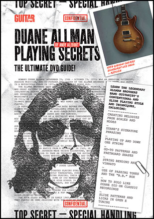 Guitar World : Duane Allman Playing Secrets