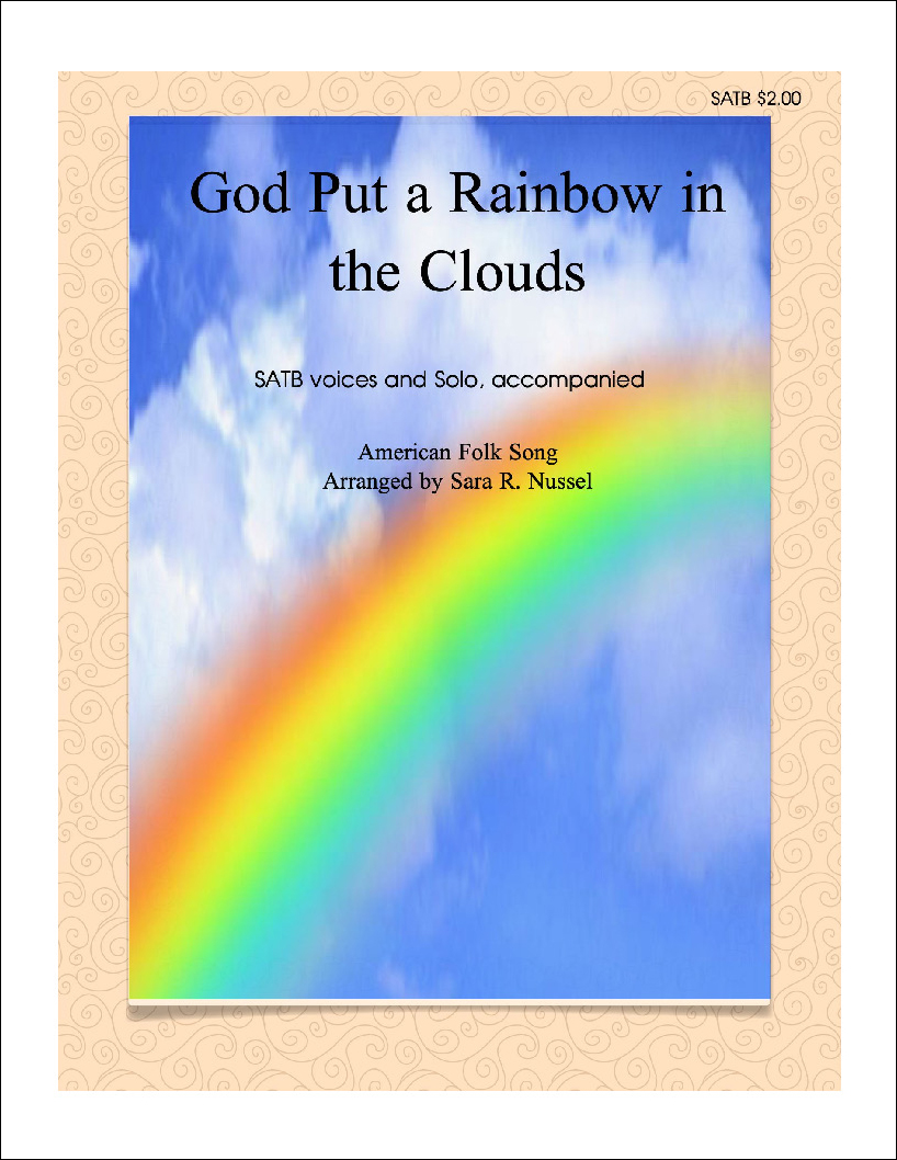 God Put a Rainbow in the Clouds