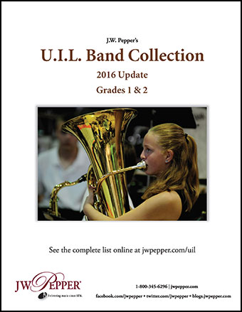 UIL Band Collection 2016 Update Cover