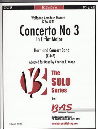 Concerto #3 in E-flat Major, K. 447