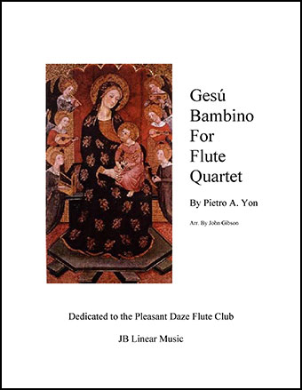 Gesu Bambino (Infant Jesus) for Flute Quartet
