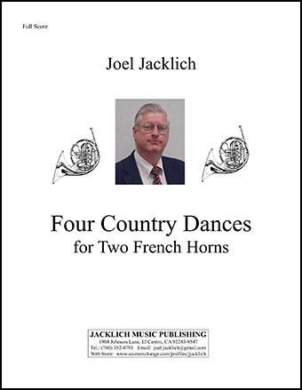Four Country Dances for Two French Horns