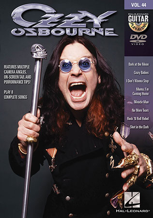 Guitar Play-Along Vol. 44 Ozzy Osbourne Cover