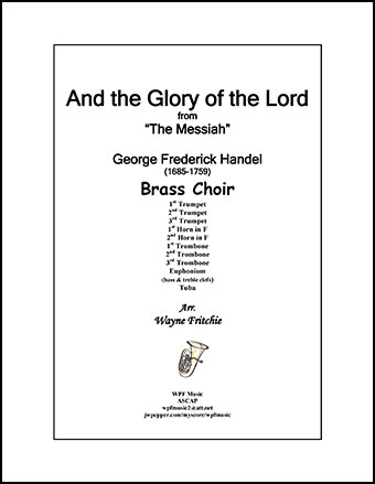 And the Glory of the Lord from