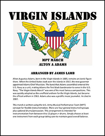 Virgin Islands March