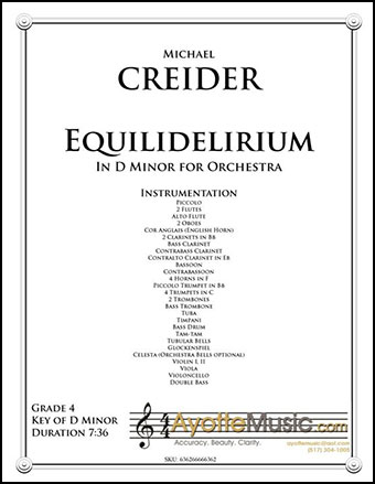Equilidelirium in D Minor for Orchestra