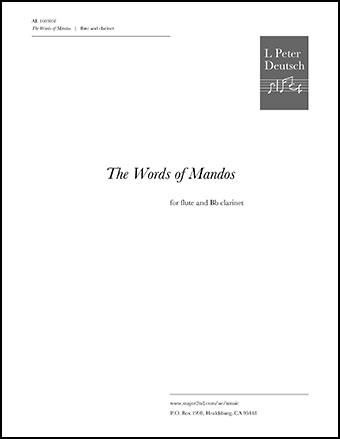 The Words of Mandos