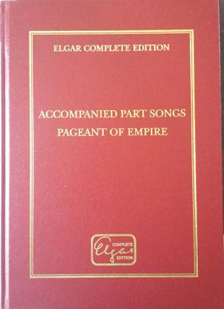 Accompanied Part Songs / Pageant of Empire