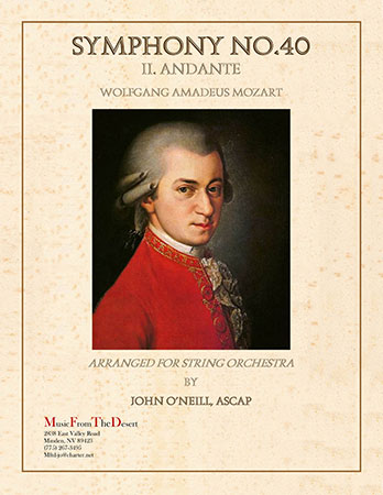 Andante from Symphony No. 40