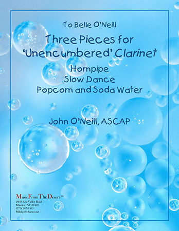 Three Pieces for Unencumbered Clarinet