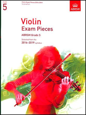 Violin Exam Pieces, 2016-2019, Grade #5
