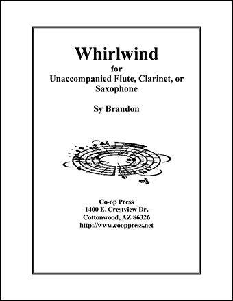 Whirlwind for Unaccompanied Flute, Clarinet, or Saxophone Thumbnail