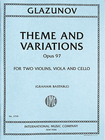 Theme and Variations, Op. 97