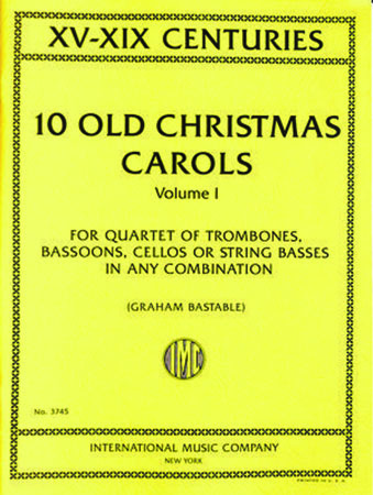 10 Old Christmas Carols, Vol. 1