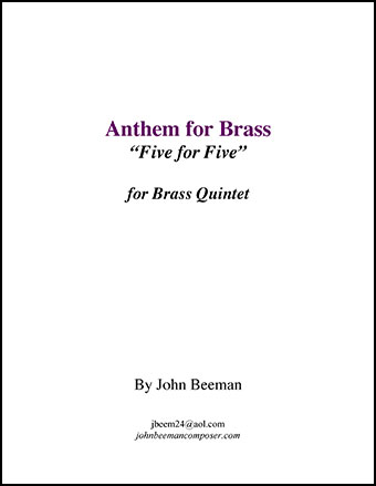 Anthem for Brass