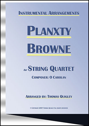 Planxty Browne (String Quartet)