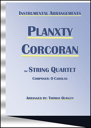 Planxty Corcoran (String Quartet)