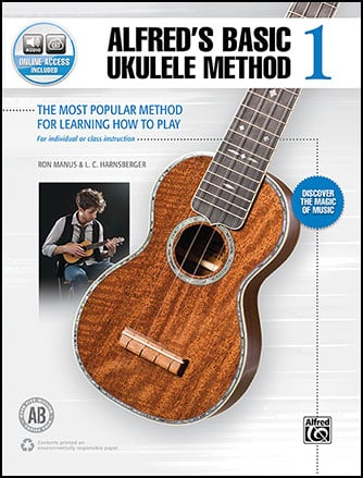 Alfred's Basic Ukulele Method, Vol. 1 Cover