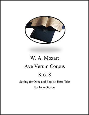 Ave Verum Corpus Oboe Trio
