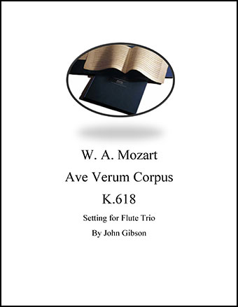 Ave Verum Corpus Flute Trio