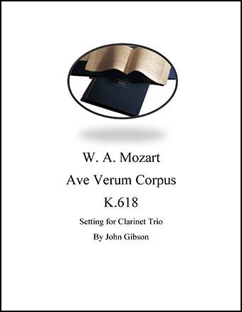 Ave Verum Corpus Clarinet Trio