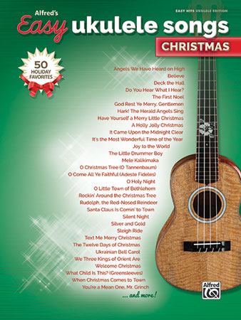 Alfred's Easy Ukulele Songs: Christmas