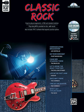 Classic Rock Guitar Play-Along