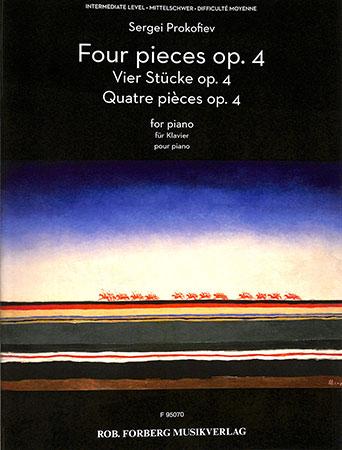 Four Pieces Op. 4