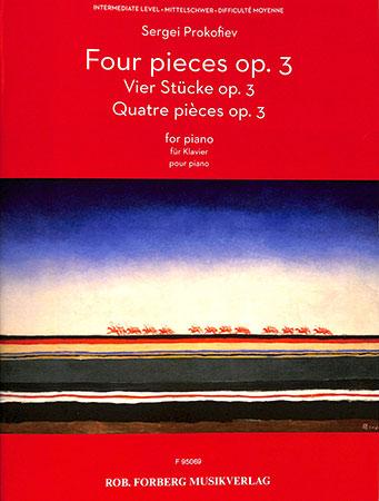 Four Pieces Op. 3