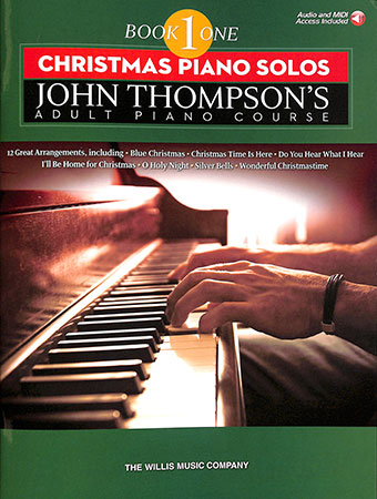 John Thompson's Adult Piano Course Vol.1 : Christmas Piano Solos