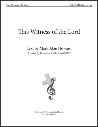 This Witness of the Lord